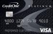 Credit One® Platinum Visa® Cash Back Rewards Credit Card