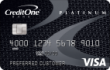 Credit One® Platinum Visa® Cash Back Rewards Credit Card