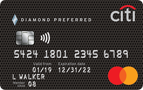 Citi<sup>®</sup> Diamond Preferred<sup>®</sup>Card